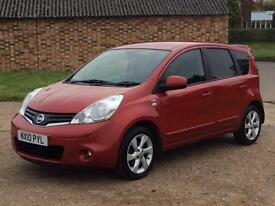 2010 Nissan Note 1.5dCi N-TEC with Sat. Navigation
