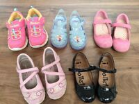 Girls shoe bundle size 10