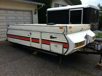 Looking to trade our 1978 Bonair Tent Trailer for a Boler
