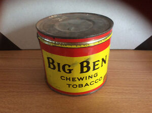 Big Ben Chewing tobacco tin