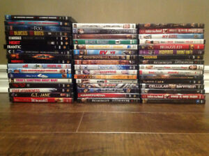 50 DVD's - $30 for all
