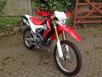 2015 Honda CRF250L £3399