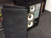 Wharfdale dovedale SP speakers x2