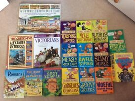 Children's history book set