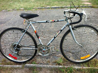 "vintage Raleigh 10 speed road bike - 19.5"" frame suits 5'3""-5'7"""