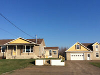 COUNTRY LIVING 2 ACRES ,QUIET SETTING DOUBLE GARAGE , APPLE TREE