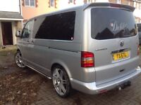 Vw t5 caravelle low milage