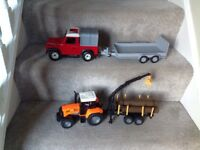 Land Rover(with sound) & Tractor/Trailor