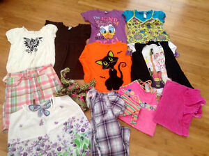 Lot of girls clothing