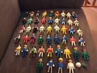 49 playmobil figures £15