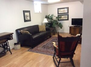 One bedroom furnished apartment for short term rental  Peterborough Peterborough Area image 1