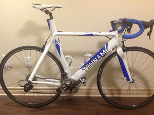 TSUNAMI BIKE with SRam Rival Carbon Groupset