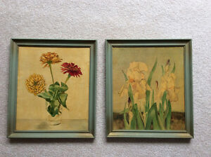 2 DONNA CAMERON PAINTINGS - Dated 1967