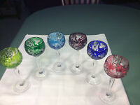 ROEMER CRYSTAL WINE GLASSES