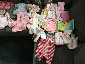 0-3 baby girl clothes, great condition s/f