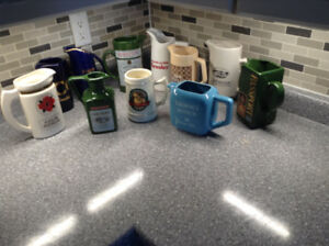 Antique Pub Mugs and Beer Steins
