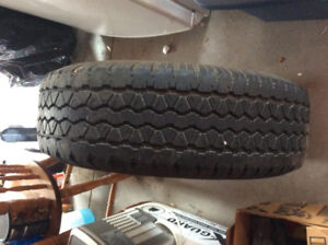 P255/70R16 set of 4 Rotated every 8000km