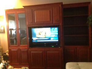 Solid Wood Wall unit For sale