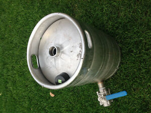 Beer Keg with a valve