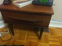 Dresser, night table 30$ With mirror