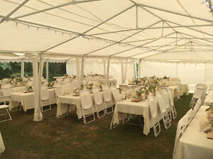 Outdoor Event Tent Rentals, Chairs, Tables, Dance Floor Cambridge Kitchener Area image 10