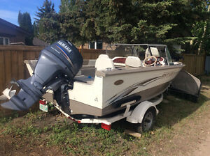 Boat with trailer for sale in North Battleford