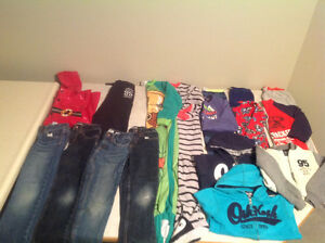 Boys size 7 clothing lot