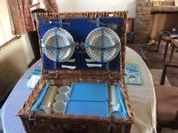 JohnLewis wicker picnic Hamper