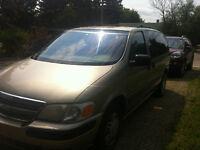 2001 Chevrolet Venture Extended Minivan, Van