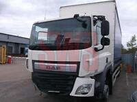 2015 DAF CF 6.7 18T 250 4x2 Sleeper Tailift DAMAGED REPAIRABLE SALVAGE