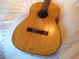 "Hofner vintage 1960s nylon string "" Flamenco"" guitar"