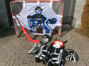 Ensemble de gardien de but junior pour hockey de rue