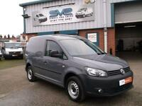 VOLKSWAGEN CADDY 1.6 TDI BLUEMOTION 102BHP STOP START AIR CON RARE COLOUR