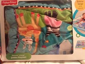 Like new baby play mat
