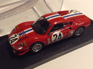 Ferrari Dino 1:43 scale diecast from Bang High quality