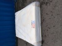 """orthopaedic memory foam mattresses 10"""" thick new in packaging"""