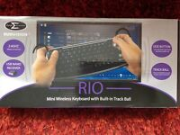 SUMVISION RIO MINI WIRELESS KEYBOARD WITH BUILT-IN TRACK BALL