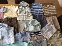 Great quality bundle of baby boys clothes ages 9-12 months