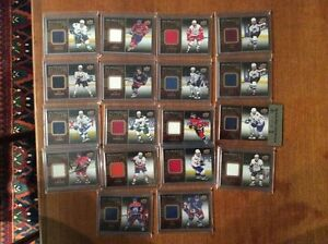 tim hortons relics/redemption hockey cards( 18) COMPLETED SET+1
