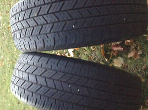2x 185/60-15 Cooper all season tires Belleville Belleville Area image 1