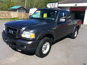 2007 FORD RANGER EXTENDED CAB, SEATS 5, 832-9000 OR 639-5000