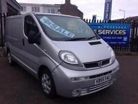 VAUXHALL VIVARO SPORT EXCELLENT CONDITION LOW MILES *TIMING BELT KIT* YEARS MOT