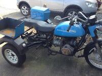 Trike for sale Citroen 2CV Rhino 602cc project barn find