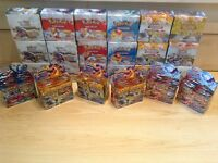 Pokemon sealed booster boxes, flashfire, noble victories etc. cards
