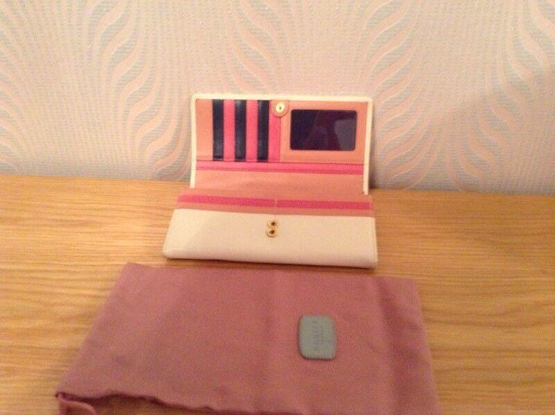 Cream Radley purse/wallet