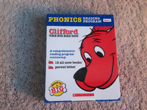 Clifford Phonics Reading Program Pack 1 - 12 books