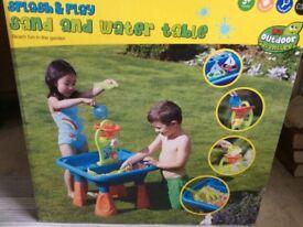 Splash & Play, Sand & Water table.