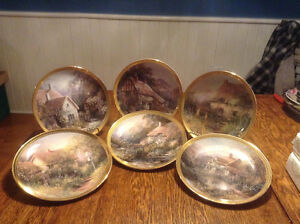 135 Bradford Exchange Collector Plates from 1980's & 90's