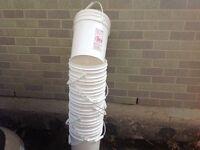 Pails - buckets 20.5 litres