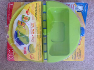 Nuk easy go folding bowl